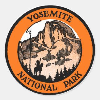 1910年のヨセミテ国立公園 ラウンドシール