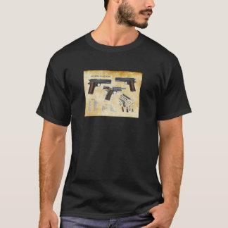 1911年の子馬のピストル Tシャツ