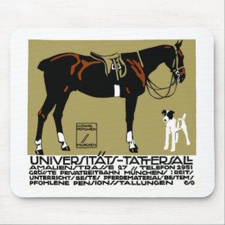 1912年のルートビッヒHohlweinの乗馬ポスター芸術 マウスパッド