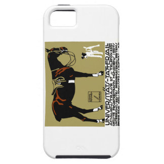 1912年のルートビッヒHohlweinの乗馬ポスター芸術 iPhone SE/5/5s ケース