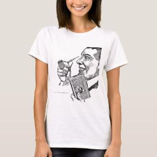 1913年のタキシードのタバコのミズーリのMeerschaumの広告 Tシャツ