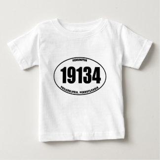 19134 -ケンジントンフィラデルヒィア、PA ベビーTシャツ