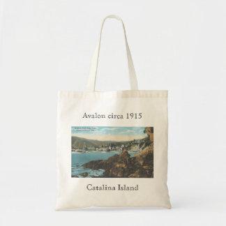 1915年のCatalinaの島のバッグ頃Avalon トートバッグ