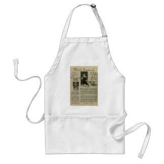 1918蒸発したミルクの広告のエプロン スタンダードエプロン