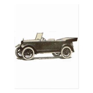 1919年のESSEXの自動車 ポストカード