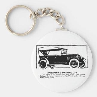 1919年のHupmobileのツーリングカー広告Keychain キーホルダー