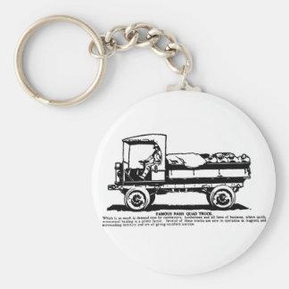 1919年のNashのトラックのイラストレーション キーホルダー