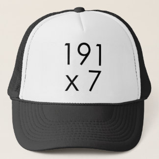 191 x 7 = 1337年のLeet  の数学Leet L33T Leetspeak キャップ