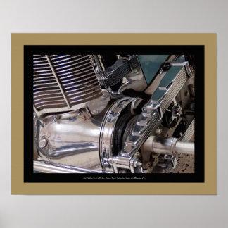 1925年ミラー自動車-詳細の ポスター