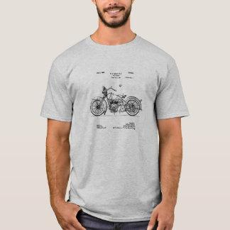 1928年のハーレー周期のパテントのイメージ Tシャツ