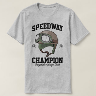 1928年の高速自動車道路のチャンピオンの元のヴィンテージの精神のティー Tシャツ