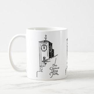 1929年のOviattの建物の時計台 コーヒーマグカップ
