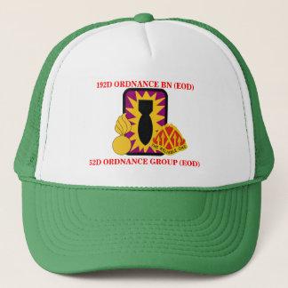 192ND兵器の大隊(EOD)の帽子 キャップ