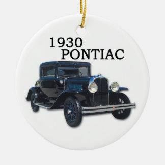 1930年及び1937のポンティアク セラミックオーナメント