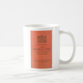 1931年の道路交通法規 コーヒーマグカップ