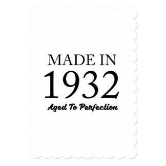 1932年に作られる カード