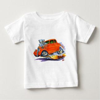 1933-36年のWillysのオレンジ車 ベビーTシャツ