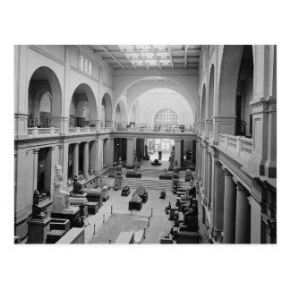 1934年頃エジプト博物館(インテリア) ポストカード