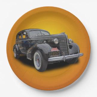 1937 BUICK ペーパープレート