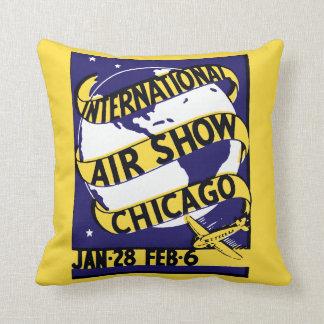 1938年のシカゴの国際的なエア・ショー クッション