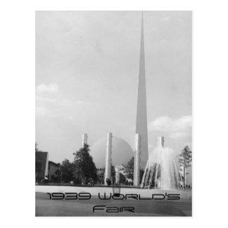 1939の万国博覧会カード ポストカード