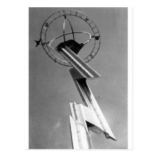 1939年の万国博覧会タワーニューヨーク ポストカード