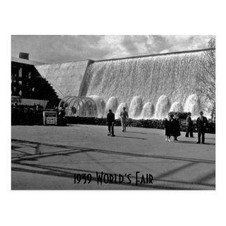 1939年の万国博覧会 ポストカード