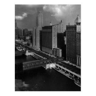 1939年11月:  シカゴ市 ポストカード