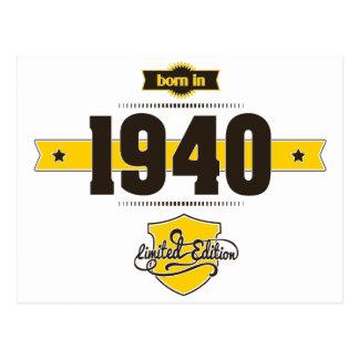 1940年に生まれて下さい(choco&yellow) ポストカード