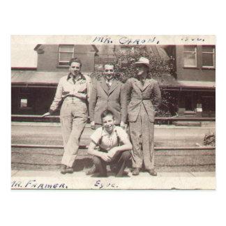1940年にFarmer氏 ポストカード