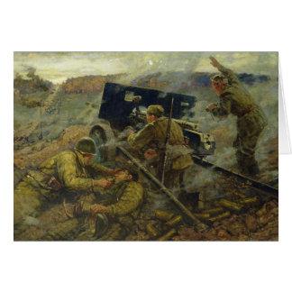 1941年にモスクワの近くのYelnyaの戦い カード