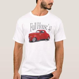 1941年のWillysのクーペのドラッグ車 Tシャツ