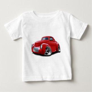 1941年のWillysの赤車 ベビーTシャツ