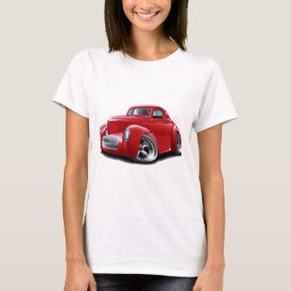 1941年のWillysの赤車 Tシャツ