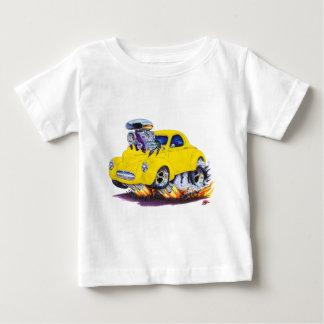 1941年のWillysの黄色い車 ベビーTシャツ