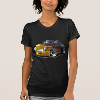 1941年のWillysの黒炎車 Tシャツ