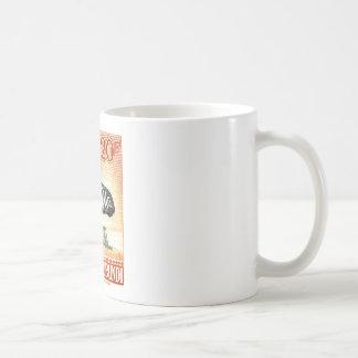1942年のRuanda Urundiのシマウマの切手 コーヒーマグカップ