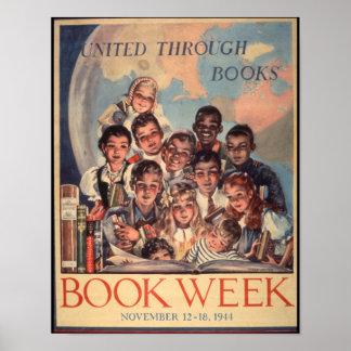 1944人の児童読書週間ポスター ポスター