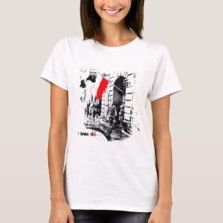 1944年のワルシャワの反乱ポーランド Tシャツ