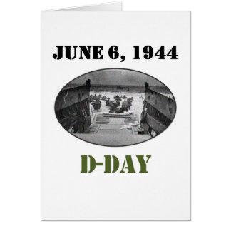 1944年6月6日: 攻撃開始日 カード