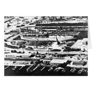 1945年に港の沼沢地 カード
