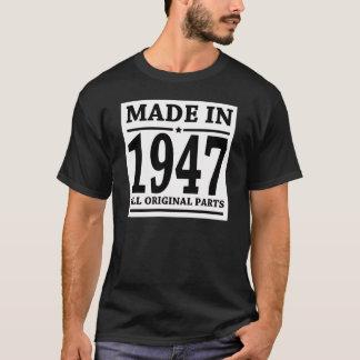 1947のすべてのオリジナルの部品で作られる Tシャツ