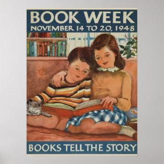1948人の児童読書週間ポスター ポスター