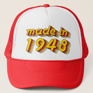 1948年に作られる(Yellow&Red) キャップ