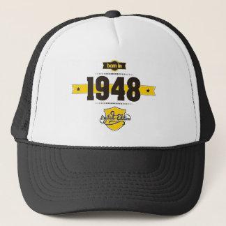 1948年に生まれて下さい(choco&yellow) キャップ