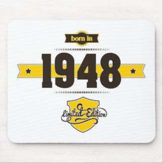 1948年に生まれて下さい(choco&yellow) マウスパッド