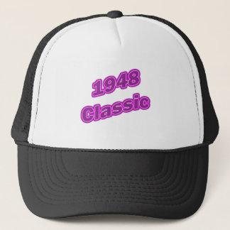 1948年のクラシックな紫色 キャップ