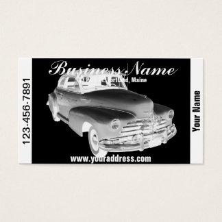1948年のシボレーFleetmasterのクラシックカーの芸術 名刺