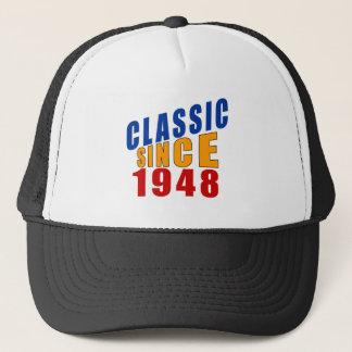 1948年以来のクラシック キャップ