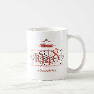 1948年以来(Red&Black) コーヒーマグカップ